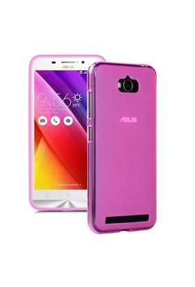 Microsonic Asus Zenfone Max 5.5 Kılıf Transparent Soft Pembe
