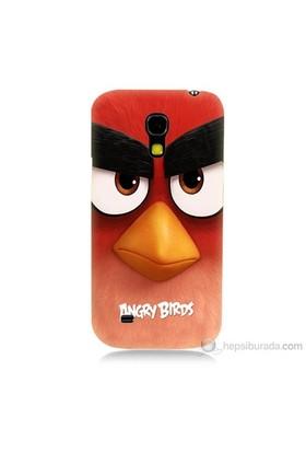Teknomeg Samsung Galaxy S4 Mini Kapak Kılıf Angry Birds Baskılı Silikon
