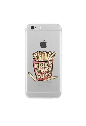 Remeto Samsung Galaxy Grand 2 Fries Before Guys Transparan Silikon Resimli Kılıf
