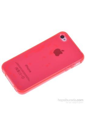 Qapak Silikon Kapak iPhone 4/4s Kırmızı uz244434007521