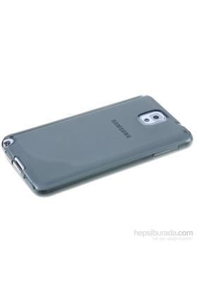 Qapak Samsung Galaxy Note 3 Silikon Korumalı Kapak Gri uz244434007545