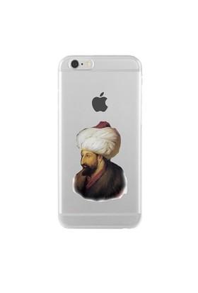 Remeto Samsung Galaxy Note 3 Neo Transparan Silikon Resimli Fatih Sultan Mehmet