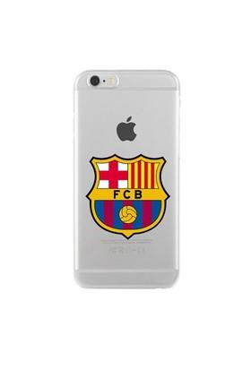 Remeto Samsung Galaxy Note 3 Neo Transparan Silikon Resimli Barcelona Logo