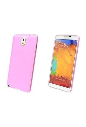 Qapak Samsung Note 4 (0,2mm) Silikon Kapak Pembe uz244434009571