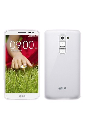 Microsonic Transparent Soft Lg G2 Mini Kılıf Beyaz