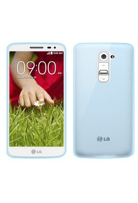 Microsonic Transparent Soft Lg G2 Mini Kılıf Mavi