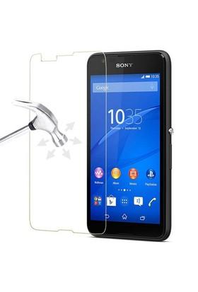 CoverZone Sony Xperia E4g Tepmerli Cam Filmi