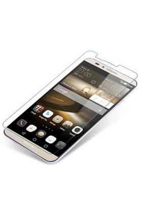 CoverZone Huawei Ascend Mate 7 Temperli Cam Filmi