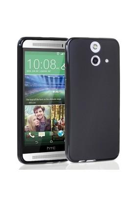 Teleplus Htc One E8 Silikon Kılıf Siyah