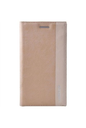 Teleplus Nokia Lumia 830 Flip Cover Kılıf Kapak Sarı