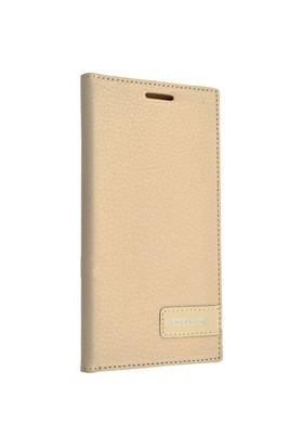 Teleplus Huawei Ascend G7 Lüx Flip Cover Kılıf Sarı