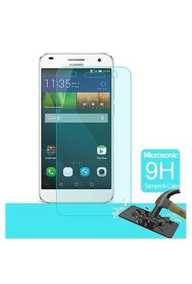 Microsonic Huawei Ascend G7 Temperli Cam Ekran Koruyucu - SG106-GLSS-HW-G7