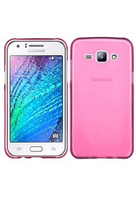 Case 4U Samsung Galaxy J5 Ultra İnce Silikon Kılıf Pembe