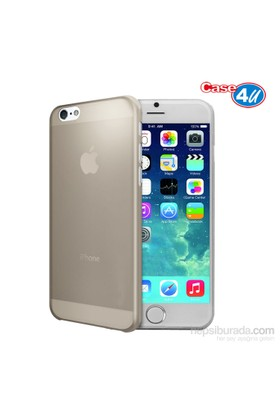 Case 4U Apple iPhone 6 0.3mm Füme Kapak