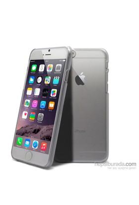 Case 4U Apple İphone 6 Plus Ultra İnce Silikon Kılıf Şeffaf