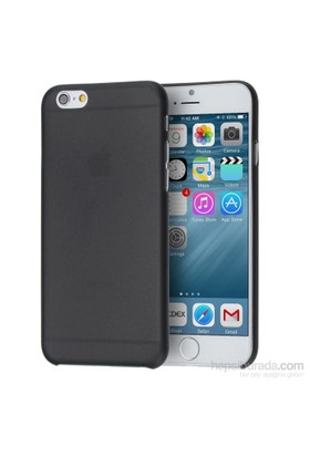 Case 4U Apple iPhone 6 0.3mm Siyah Kapak