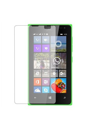 Teleplus Microsoft Lumia 532 Şeffaf Cam Ekran Koruyucu