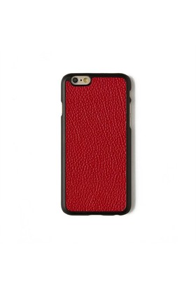 Kırmızı Flotter Deri Telefon Kılıfı - İphone 6/6S