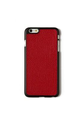 Kırmızı Flotter Deri Telefon Kılıfı - İphone 6 Plus / 6S Plus