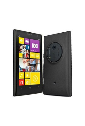 Microsonic Nokia Lumia 1020 Rubber Kılıf Siyah - CS110-LUMIA-1020-SYH