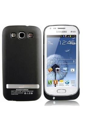 Teleplus Samsung İ9082 Galaxy Grand Duos Şarjlı Kılıf Siyah