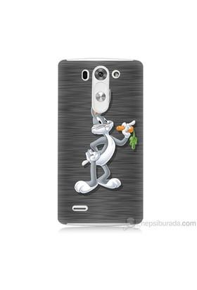 Teknomeg Lg G3 Mini Kapak Kılıf Bugs Bunny Baskılı Silikon