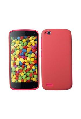Teleplus General Mobile Discovery Kırmızı Silikon Kılıf