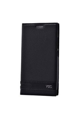Teleplus Huawei Y5c Lüx Mıknatıslı Kılıf Siyah