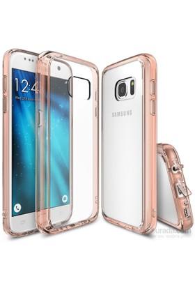 Ringke Fusion Galaxy S7 Kılıf Rose Gold - Extra Darbe Emici