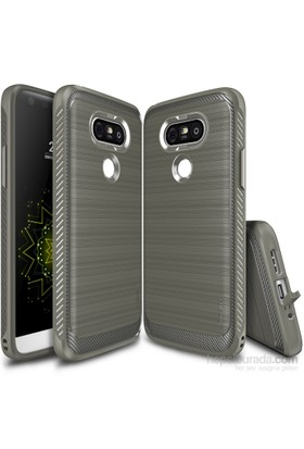 Ringke Onyx LG G5 Kılıf Mist Gray - Ultra Extra Darbe Dağıtıcı Tam Koruma