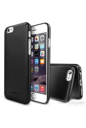 Ringke Slim iPhone 6s Plus/ 6 Plus Kılıf SF Black - 4 Tarafı Saran İnce Şık Tasarım