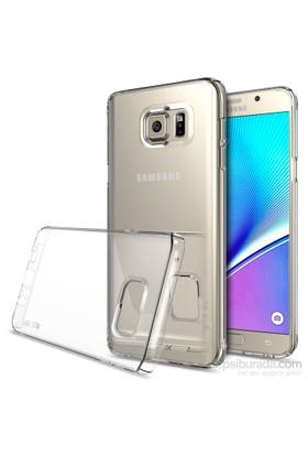 Ringke Slim Galaxy NOTE 5 Kılıf Clear - 4 Tarafı Saran İnce Şık Tasarım Şeffaf Kılıf