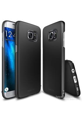 Ringke Slim Galaxy S7 Edge Kılıf SF Black - 4 Tarafı Saran İnce Şık Tasarım