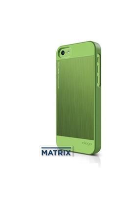 Elago Apple iPhone 5C S5 Outfit Series-Yeşil (Ekran Koruyucu Hediye)