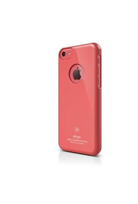Elago Apple iPhone 5C S5 Slim Fit Series-Kırmızı (Ekran Koruyucu Hediye)