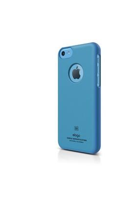 Elago Apple iPhone 5C S5 Slim Fit Series-Mavi (Ekran Koruyucu Hediye)