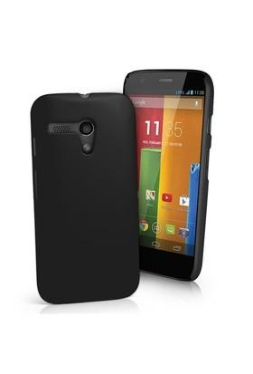 Motorola Moto G Darbe Emicili Silikon Kılıf Siyah