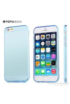 Totu Design Apple iPhone 6 Soft Mavi Kılıf