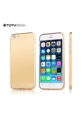Totu Design Apple iPhone 6 Soft Altın Kılıf