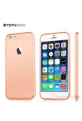 Totu Design Apple iPhone 6 Soft Turuncu Kılıf*