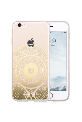 Hoco Apple İphone 6/6S Star Kristal Taşlı Silikon Kılıf Totem