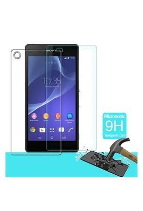 Microsonic Full Body Temperli Cam Ekran Koruyucu Sony Xperia Z2 Ön + Arka