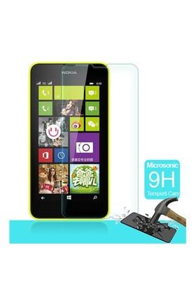 Microsonic Temperli Cam Ekran Koruyucu Nokia Lumia 630 Film
