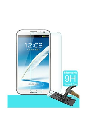 Microsonic Temperli Cam Ekran Koruyucu Samsung Galaxy Note 2 Film