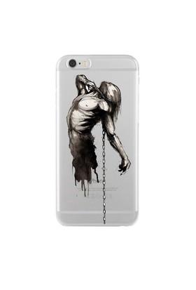 Remeto iPhone 6/6S Şeffaf Silikon Resimli Tutsak Ruh