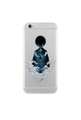 Remeto iPhone 6/6S Şeffaf Silikon Resimli Gecenin Hayaleti