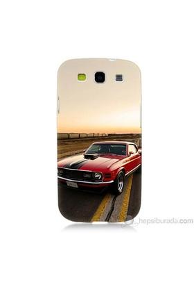 Teknomeg Samsung Galaxy S3 Kapak Kılıf Araba Baskılı Silikon
