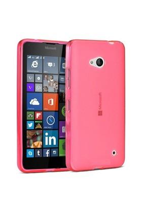 Teleplus Nokia Lumia 640 Xl Tam Korumalı Silikon Kılıf Kırmızı