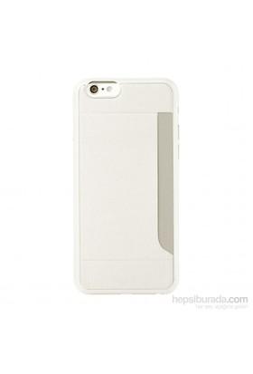 Ozaki O!coat 0.3 Pocket iPhone 6 Kılıfı + Ekran Koruyucu Film (Beyaz) - 23066