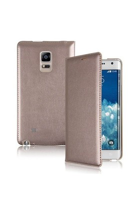 Teleplus Samsung Galaxy Note Edge Flip Cover Kılıf Sarı